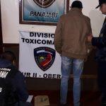 Detuvieron a un presunto dealer e incautaron marihuana en Panambí