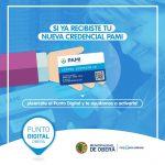 En el Punto Digital Activan la nueva credencial PAMI
