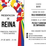 Show con presentación de Reina en la Colectividad Ucraniana