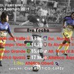 En el Iguazú se juega la 8a del Femenino