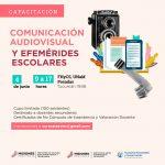 Capacitación audiovisual para docentes y talleristas