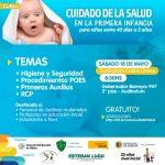 Dictarán curso de Cuidado de la Salud en la Primera Infancia
