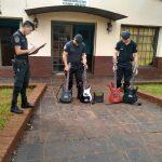 Detuvieron a «Leito» y recuperaron instrumentos musicales robados en Oberá