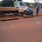 Siniestro vial dejó como saldo un motociclista lesionado en Oberá