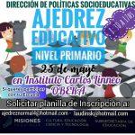 Escuelas primarias se encontrarán en el Torneo Provincial de Ajedrez