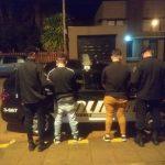 Operativo de Nocturnidad: Siete detenidos por infracción al Código de Faltas