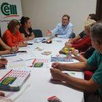 Daniel Behler continúa recorriendo los barrios obereños y participando de importanes reuniones