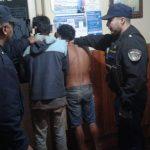 Cuatro personas fueron detenidas por infringir el Código de Faltas