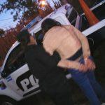 Tres hombres y una mujer fueron detenidos por ocasionar disturbios