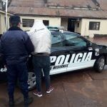 Un joven fue detenido por estafar y amenazar a otro