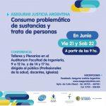 Taller de Consumo problemático de sustancias y trata de personas