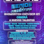 "Casting para ""Genios de la Argentina"""