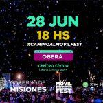 «Camino al Movilfest» llega el viernes a Oberá