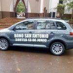 Números ganadores del Bono San Antonio