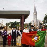 Izamiento de la Bandera de Portugal