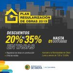 Plan de Regulación de Obras 2019