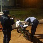 Recuperaron en Campo Ramón una motocicleta robada en Oberá el año pasado