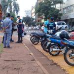 La policía secuestró dos motocicletas sin documentaciones