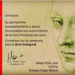 El sábado comienza la 42° Feria Provincial del Libro
