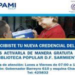 En la Biblioteca Sarmiento brindan ayuda a jubilados que no sepan activar su nueva credencial