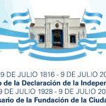 Acto por el día de la Independencia y aniversario de Oberá