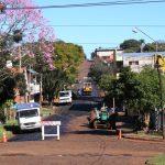 Avanzan con la pavimentación en calle Larrea