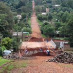 Avanzan obras en puentes sobre arroyo Mbotaby