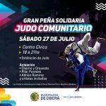Peña solidaria del Judo Comunitario