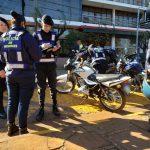 Otra motocicleta retenida por falta de documentaciones
