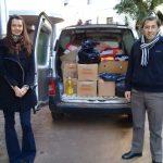 Se entregaron las donaciones de CRUZADAS SOLIDARIAS
