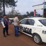 Circulaba con una licencia de conducir adulterada y fue detenido