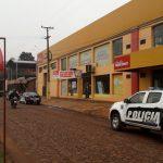 La Policía investiga un robo ocurrido en un local comercial y busca intensamente a los autores del hecho