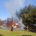 La Policía investiga el incendio de una cabaña en Campo Ramón