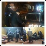 La policía asistió a un abuelo que dormía sobre un banco en la vereda