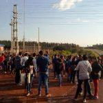 Oberá: agrupaciones sociales cortan el tránsito en km 13 de la ruta 14