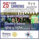 Charlas y Talleres en la 25° Edición de la Expo Carreras