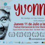 """Proyección de """"Yvonne"""" en el Festival Oberá en Cortos"""