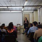 Las mujeres toman la palabra y relatan sus experiencias en la Facultad de Arte y Diseño