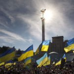 Acto Día de la Independencia de Ucrania