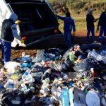 Limpieza y eliminación de micro basurales