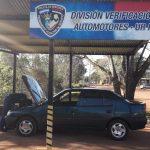 La Policía secuestró un vehículo adulterado