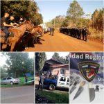 Secuestros, actas de Infracción, licencias y vehículos retenidos en el Operativo Rural