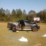 Es robada la camioneta hallada junto a las tres toneladas de marihuana