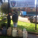 Recuperaron 5 garrafas robadas a la CELO, detuvieron a uno de los principales sospechosos y avanzan en el esclarecimiento del hecho