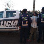La policía asistió a una joven que se encontraba en situación de calle