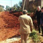 Andersson recorrió obras de ampliación de Agua Potable junto al Vicepresidente del EPRAC