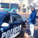 Detuvieron a un prófugo que amenazó de muerte a un comerciante