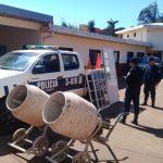 La policía recuperó elementos robados de una obra en construcción y avanza en el esclarecimiento del hecho