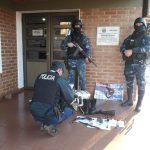 Policías secuestraron un arma y recuperaron elementos robados