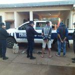 La policía recuperó elementos robados de una construcción
